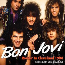 BON JOVI New Sealed 2017 UNRELEASED CLEVELAND LIVE 1984 CONCERT CD