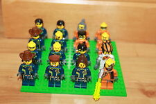 Lego Agents - 16 Figuren u.a. Agent Chase, Fuse, Charge, Fist Set 8630 8631 8635