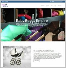 """Fully Stocked Dropshipping BABY STROLLERS Website Store. """"300 Hits A Day"""""""