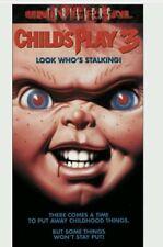 CHILD'S PLAY 3 HORROR VHS RARE! 1ST EDITION ORIGINAL RELEASE 1992 MCA UNIVERSAL