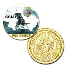 U.S Navy USS Haddo (SSN-604) printed Challenge coin