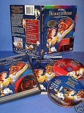 NEW Platinum Ed. Walt Disney Beauty and the Beast 2 DVD Bonus Collector CD ROM 1