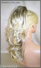 USA Ash Blonde #22mbt Banana Butterfly Clip Ponytail extension pony fall 3102