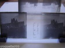 2 photos plaque verre anciennes negative positive INGRANDES bois Baudet Mr Pitou
