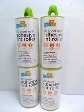Lint Roller 4 Pack - 240 Total Sheets  Durable Handle  High Tack Adhesive Refill