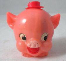 Adorable Rolly Poly PORKY Pig TAPE MEASURE; c1940's That's All folks