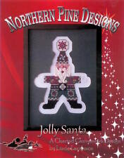 15% Off Northern Pine Designs Counted Canvas Chart - Jolly Santa