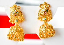 22k gold plated chandelier EARRINGS - Indian  Ethnic  drop fashion H20