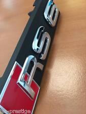 LOGO EMBLEMA RS6 C7 CALANDRA AUDI A6 S6 QUATTRO S-LINE RS ORIGINAL AUDI