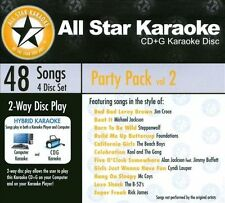 ASK-6002 Party Pack Vol. 2 Marvin Gaye, Elvis Presley, Michael Jackson, Hank Wil