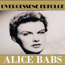 CD Alice Babs Unvergessene Erfolge incl Duette mit Paul Kuhn