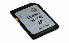New Kingston Technology Class 10 UHS-I SDXC 64GB SD10VG2/64GB UK Seller