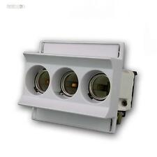Neozed Safety socket max. 3x63A for Din rail 3-pin, Switch for backup
