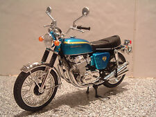 1:12 HONDA CB750 SUPER FOUR K K0 K1 K2 FANTASTIC QUALITY MODEL CANDY BLUE GREEN