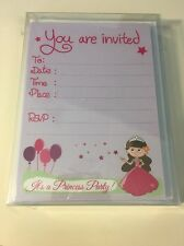 Princess Castle Girls Birthday Party Invitations 20 Count with Envelopes