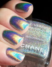 CHANEL VERNIS DUO PLATINUM HOLOGRAPHIC BEYOND RARE NAIL VARNISH NEW MINT NO BOX