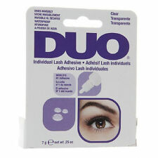 Duo False individuales Eyelash Pegamento Adhesivo Transparente tono Impermeable 7g ** oferta **
