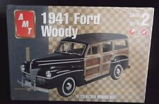 New Sealed AMT 1941 Ford Woody 1:25 Scale Model Kit