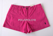 New Ralph Lauren Sport Women Pony Mini Shorts 2 4 6 8 10