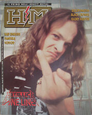 HM 118 1992 Metallica Disciplinatha Pantera Voivod Bad English Black Crowes Gow