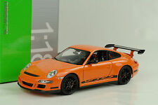 2007 Porsche 911 997 gt3 RS naranja 1:18 Welly