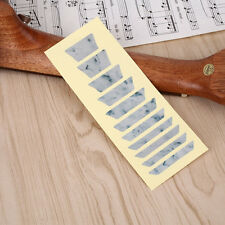 Guitar Bass Inlay Trapezoid Sticker Fretboard Frets Markers Decal Decor