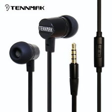 Tennmak Dulcimer Red in-ear metal earphone & earbud with MIC & remote for phone