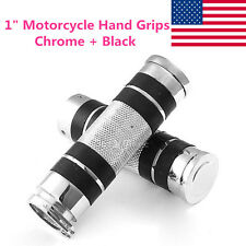"1"" Motorcycle Handle Bar Hand Grips Fit Honda Shadow VT ACE Spirit VLX 600 750"