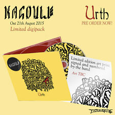 "Kagoule ""Urth"" SIGNED Digisleeve CD with Bonus Art Print - NEW"