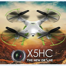 Syma X5HC 2.4GHz 2.0MP Camera RC Quadcopter Altitude Hold Headless Mode White