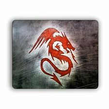 Mouse Pad For Computer Home and Office Red Dragon