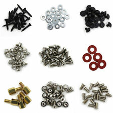 Computer Screws HardDrive Motherboard Standoffs/ Screws/ Washers Kit 145pcs DIY