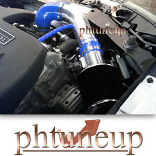 BLUE 2005-2010 CHEVY COBALT BASE LS LT XFE 2.2 2.2L AIR INTAKE KIT+ BLACK FILTER