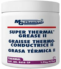 MG Chemicals 8616-1P Cream Super Thermal Grease II, Silicone Free