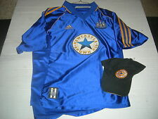 Newcastle United BPL Official Replica Jersey & Cap,ADIDAS QUALITY GREAT GIFTS