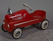 Garton Fire Chief Child's Pedal Car Restored-PNR-PICK UP ONLY- Lot 1644111