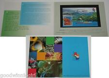 Hong Kong 2001 Stamp Exhibition S/S #4 Persentation Pack`
