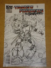 TRANSFORMERS HEART OF DARKNESS #1 RI A COVER 2011 IDW ULISES FARINAS