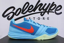 NIKE KB MENTALITY CLEAR WATER BLUE BRIGHT CRIMSON GREEN LACQUER 704942 400 SZ 13