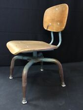 Ant Vintage Atomic Mid Century Chair Industrial Age Childs School Steampunk