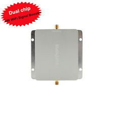 Genuine Sunhans Dual chip 4W Wireless WiFi Signal Booster Amplifier 2.4G 11b/n/g
