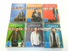 Dr. House - Staffel 1+2+3+4+5+6 - Staffel/Season 1-6 DVD Neu