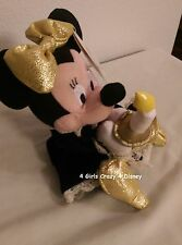Disneyland Minnie Dressed in Victorian attire Beanie with tag retired Vintage