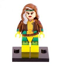 Rogue minifigure custom X-Men figure toy Apocalypse With Lego Sticker