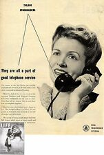 BELL TELEPHONE SYSTEM * US-ADVERTISING 1947