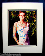 SHARON STONE-Autographed 8x10 Photograph In A Double Matted Display-Sex Kitten
