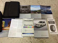2014 MERCEDES BENZ GLK 450 550 CLASS MODELS Owners Operators Owner's Manual SET