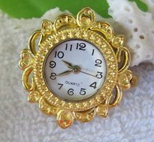 5PCS Gold Quartz Watch face SQUARE/ROUND W7311