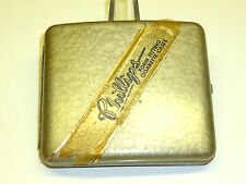 "ANTIQUE VINTAGE ""PHILLIPS"" CIGARETTE CASE WITH ADVERTISING -ZIGARETTENETUI"