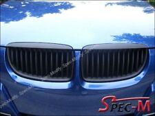 Matte Black Front Hood Eyelids Hood Grille For BMW E91 2006-2008 323i 325i 328i